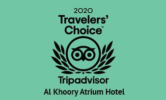 Atrium Tripadvisor Travellers Choice